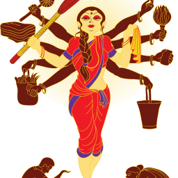 And I would like to thank… Savita Aunty!!!
