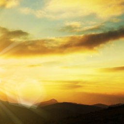 Ardent dawn : A blissful dusk's progeny…