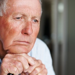 In the lap of death…