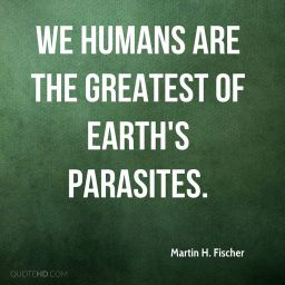 Earth's Parasites…